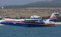 Un Beriev Be-200 chez Tarmac Aerosave