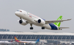 Grounded COMAC C919 test aircraft fly again after modifications